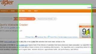 Website Grader SEO