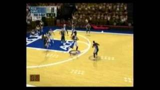 NCAA Final Four 2001 PlayStation 2 Gameplay