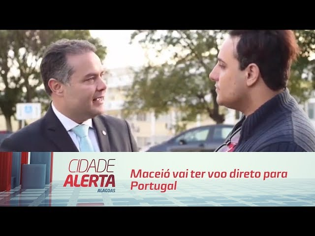 Direto de Lisboa: Maceió vai ter voo direto para Portugal