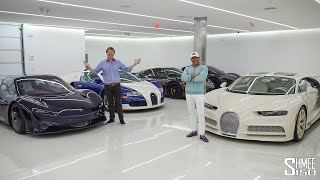 MANNY KHOSHBIN GARAGE TOUR! New Speedtail, Chiron, Ford GT and More