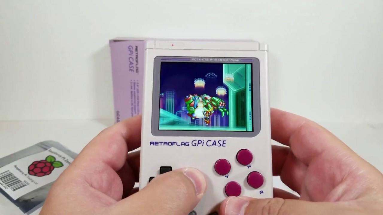 GPi Case - Raspberry Pi Zero (W) DIY Gameboy Shell