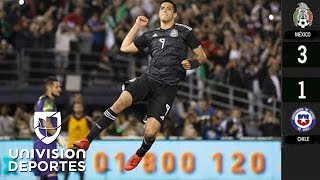 México 3-1 Chile - GOLES Y RESUMEN – JU...