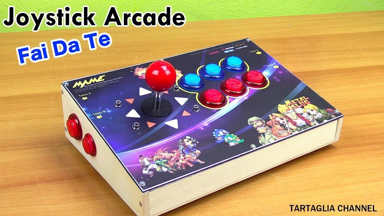 Extrêmement Joystick Arcade fai da te illuminato - costruiscilo con pochi euro  FK75