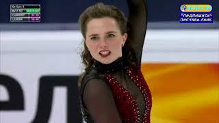 24 03 2021 Фигурное катание Чемпионат мира Стокгольм Женщины Короткая программа