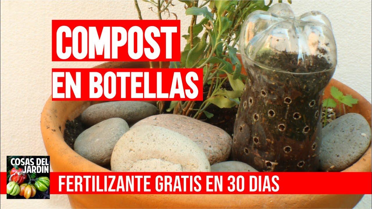 Como hacer Compost en Botellas de Plastico dentro de casa