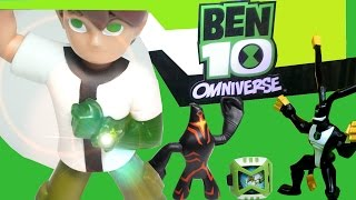 Ben 10 Omniverse_TOYS Unboxing_ McDONALD'S Happy Meal Kids Toys