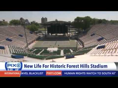 Forest Hills Stadium gets new life