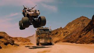 Неуклюжий Накс и гибель Анкхарат — «Безумный Макс: Дорога ярости» (2015) сцена 6/10 HD