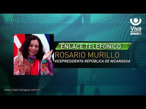 Comunicación Íntegra de la Compañera Rosario Murillo (18 de Mayo de 2018)