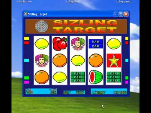 sizzling hot burning target download