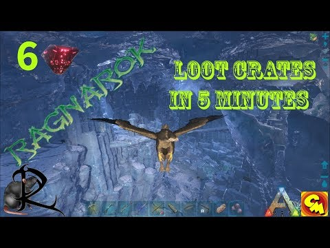 Ark Ragnarok Ice Cave 6 Real easy drops that will make you happy
