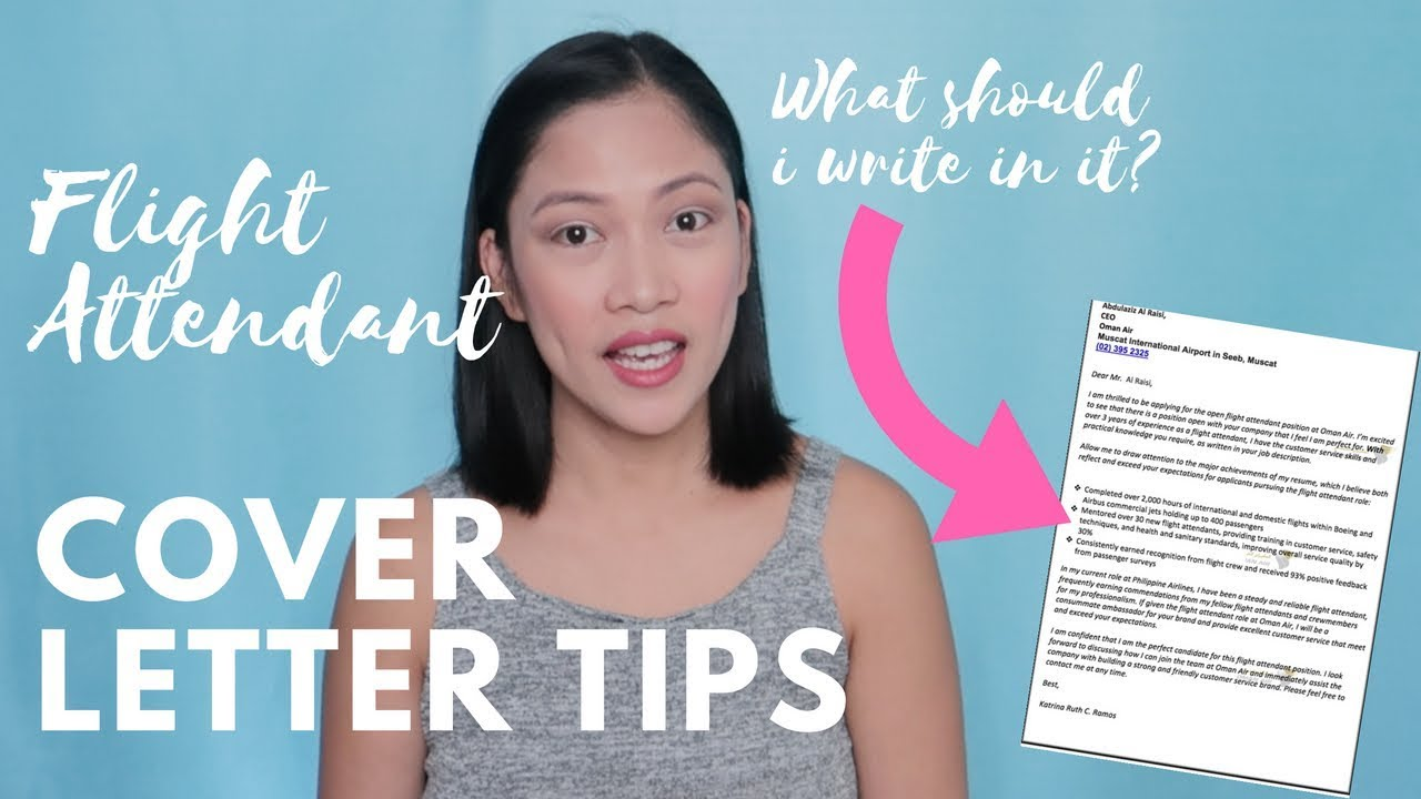 flight attendant cover letter tips misskaykrizz philippines