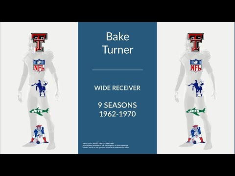 Bake Turner: Football Wide Receiver