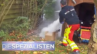 Illegales Feuerwerk: Explosion verletzt Frau schwer | Die Spezialisten | | SAT.1 TV