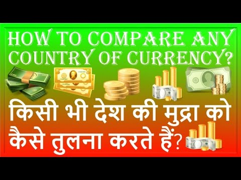 Compare Any Country Of Currency