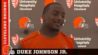 Duke Johnson thinks playing in Todd Haley's offense should be fun | Browns Press Conference