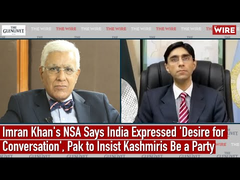 Imran Khan's NSA Says India Expressed 'Desire for Conversation', Pak to Insist Kashmiris Be a Party