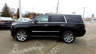 2017 Cadillac Escalade - Used Cars - For Sale - Brantford Kia 519-304-6542 Stock No. P2552