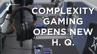 Look inside Complexity Gaming's new H.Q. in Frisco at The Star Video