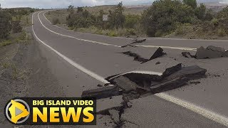 Earthquakes, Explosions Damage Hawaii Volcanoes National Park (Jun. 4, 2018)