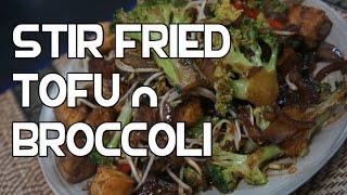 Stir Fry Broccoli & Tofu Recipe Video - Asian Wok