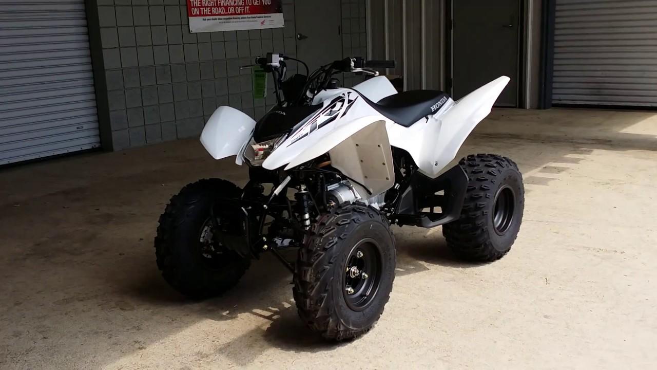 2016 Honda TRX250X Sport ATV / Quad - Walk Around - YouTube