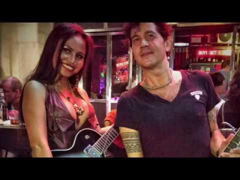 Shamana Guitars with Jo & Revolution Band at Hollywood Baby Dongguan