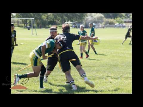 Major League Quidditch San Francisco Argonauts Vs. Salt Lake City Hive June 3rd 2017