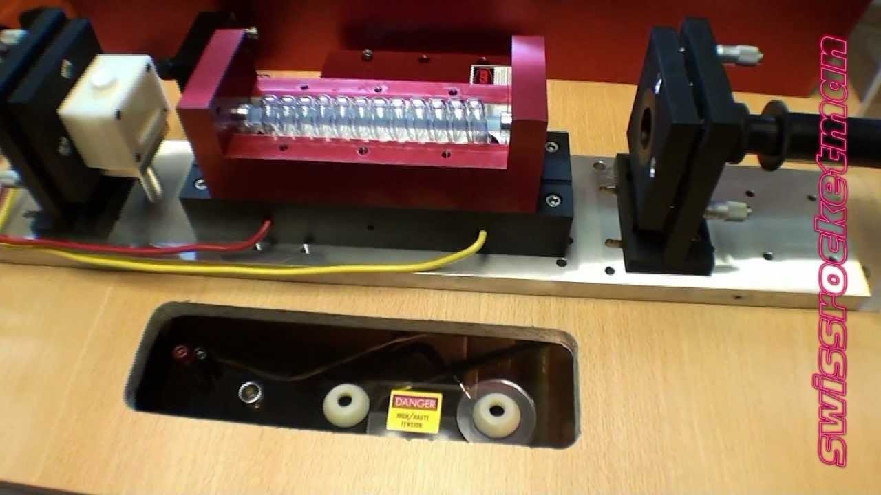preparation of my Nd glass laser - YouTube