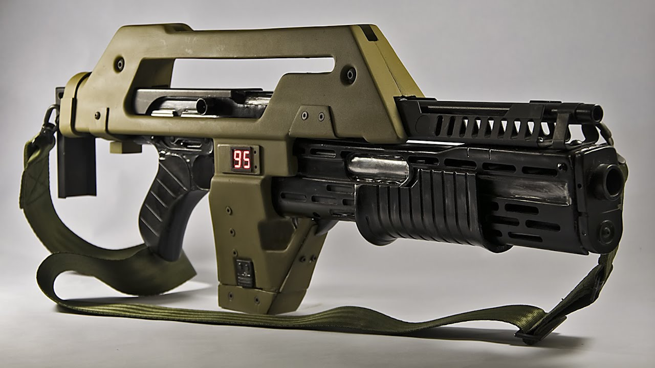 Iconic Armoury: M41A Pulse Rifle History - Aliens