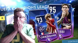 The UEFA Champions League Packsanity in FIFA Mobile 19 iOS! Elite Barcelona Featured Match Pull!