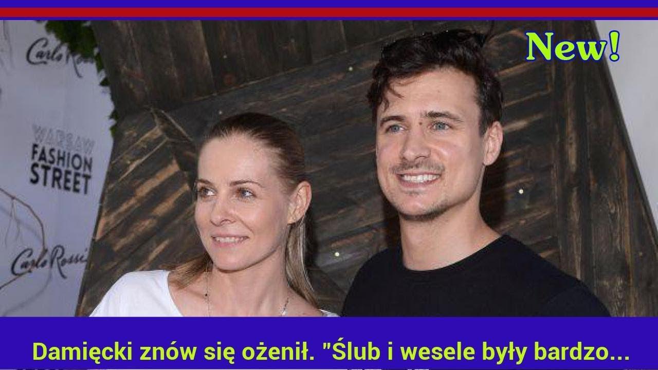 """Damięcki znów się ożenił. """"Ślub i wesele były bardzo skromne"""""""