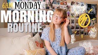 6am MONDAY morning routine || Productive at University