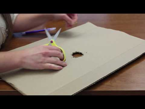 Make 2 DIY solar eclipse viewers using common materials