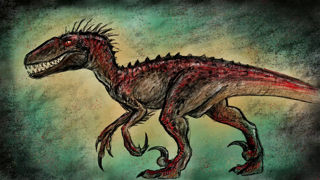 Is This Indoraptor Drawing Indoraptor Jurassic World Fallen Kingdom