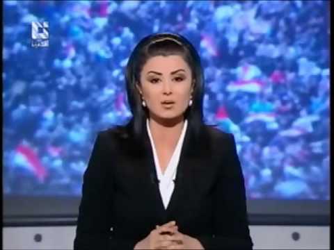 Une  journaliste insulte l'émir du Qatar et le défit  يا أمير الموز الفاسد