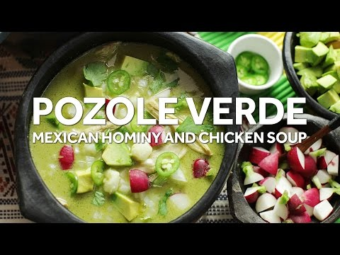 How to Make One-Pot Pozole Verde de Pollo