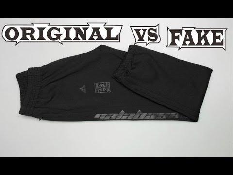 27696de60 Adidas Yeezy Calabasas Track Pants Black Original   Fake - YouTube