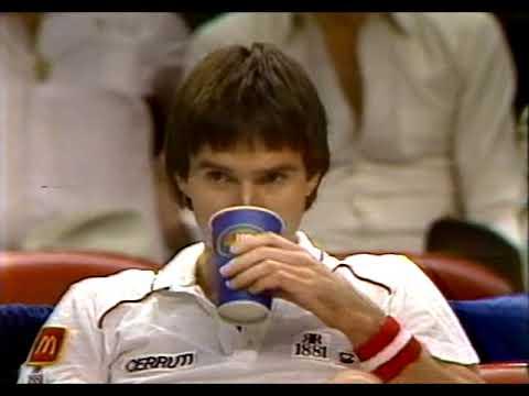 Ivan Lendl vs Jimmy Connors SF Masters 1983