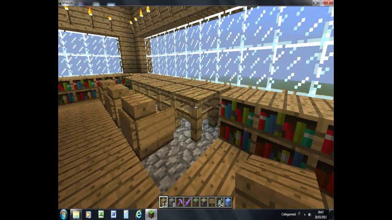 Come fare una bella villa su minecraft 1 youtube for Come costruire una villa