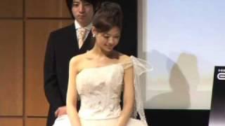 ミス慶應コンテスト2008フィナーレ。ミス・スリムアップスリムに選ばれ...