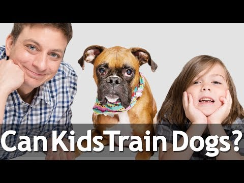 Can Kids Train Dogs?