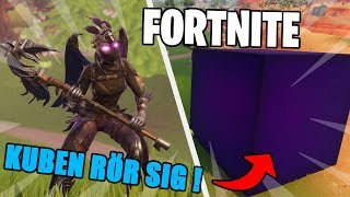 ALIEN-THE CUBE MOVES IN FORTNITE! | BUY NEW RAVAGE SKINNET!