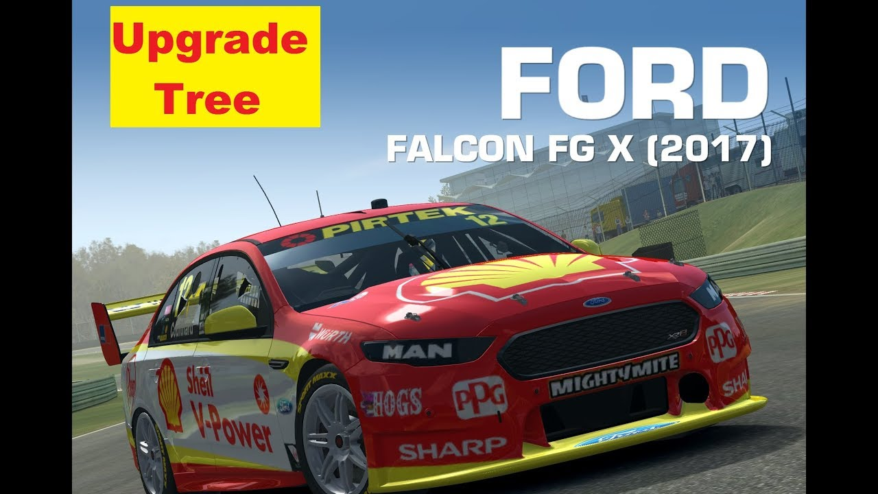 Video - Ford Falcon FG X 2017 Upgrade Tree | Real Racing 3 Wiki