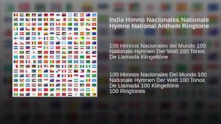 India Himno Nacionales Nationale Hymne National Anthem Ringtone