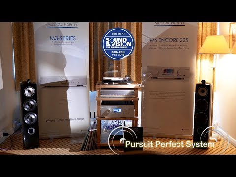 Musical Fidelity NEW Nu-Vitsa Vinyl Phono Stage & Encore 500 Bowers Wilkins @ Bristol Show 2018
