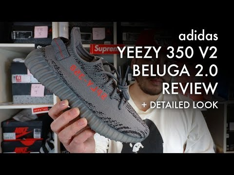 9d782286c ADIDAS YEEZY BOOST 350 V2 BELUGA 2.0 - EARLY REVIEW PLUS CLOSE UP LOOK