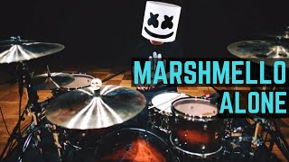 Repeat youtube video Marshmello - Alone - Drum Cover