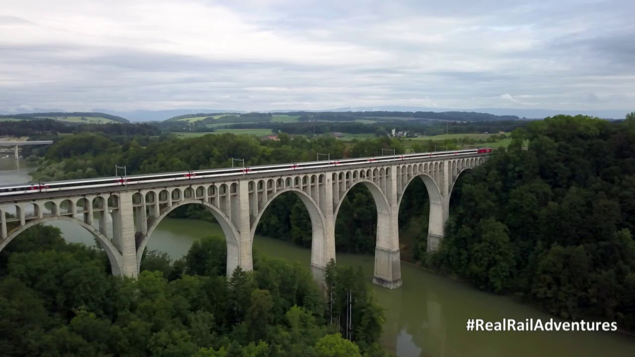 """HD Travel-Switzerland  Real Rail Adventures: """"Train Facts and Zurich"""" - copy"""
