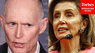 'We Will Not Do It': Rick Scott Says GOP Will Have No Part In Raising Debt Ceiling